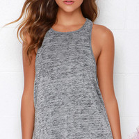 Obey Slater Heather Grey Tank Top
