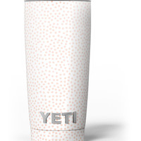 The All Over Micro Pink Dotted Pattern Yeti Rambler Skin Kit