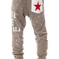 The Sci Sweatpants in Heather Grey