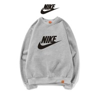 NIKE Fashion Print Top Sweater Pullover