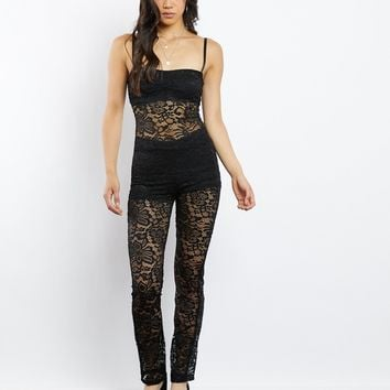 Lace Noir Jumpsuit