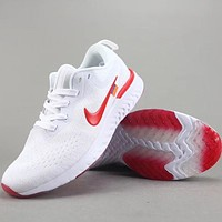 Trendsetter Off White X Nike Odyssey React  Women Men Fashion Casual Sneakers Sport Shoes