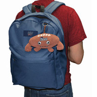 New England Patriots® Plush Backpack Clip