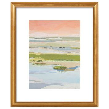 Marsh Blush East by Karin Olah Framed Print for Artfully Walls