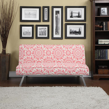 Walmart: Gage Medallion Click-Clack Futon Sofa Bed, Multiple Colors