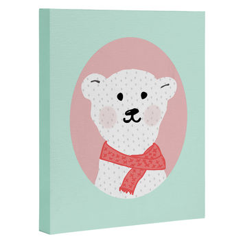 Allyson Johnson Polar Bears Art Canvas