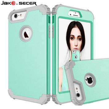 Shockproof for iPhone 6 Case S 360 Full Cover Protection Shock Proof Cases for Apple iPhone 6 6s Plus Phone Accessories Silicon