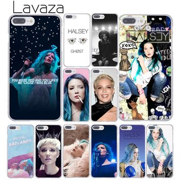 Lavaza 461F Halsey Colors Lyrics Hard Coque Shell Phone Case for Apple iPhone 8 7 6 6S Plus X 10 5 5S SE 5C 4 4S Cover
