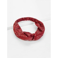 Paisley Pattern Headband