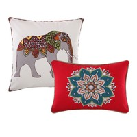 Kandula Desert 2 Piece 100% Cotton Pillow Set