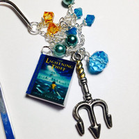 Crystal Bookmark-Percy Jackson and the Lightning Thief- Camp Halfblood- Great for Book Lovers and Book Clubs