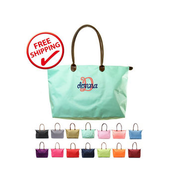 Sets of 4 -15 Designer Inspired Nylon Large Overnight Tote Bags Buy More Save More