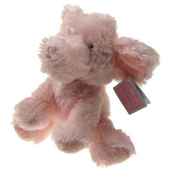 "8"" Pink Elliefumps Elephant Russ Baby Soft Plush Toy Girl Stuffed Animal Doll"
