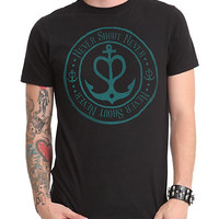 Never Shout Never Anchor Logo Slim-Fit T-Shirt