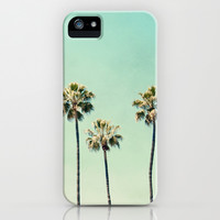 Palm Trees  iPhone & iPod Case by Bree Madden