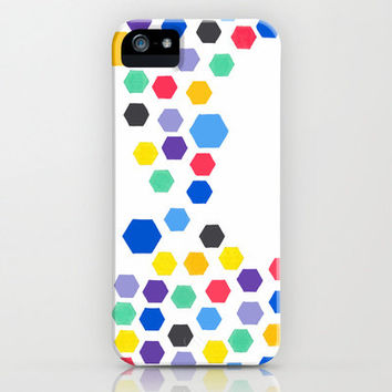 iPhone 5 Case - Hexagon Jewels - unique iPhone case