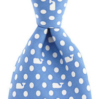 Men's Ties: Polka Dot Whale Silk Tie for Men – Vineyard Vines