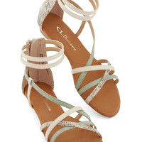 ModCloth Mist You More Sandal