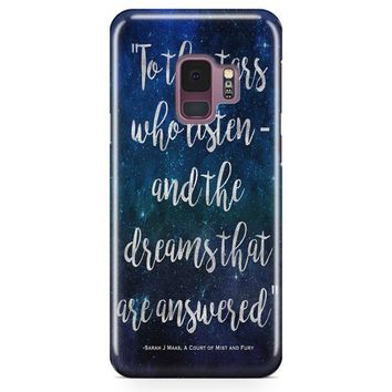 A Court Of Mist And Fury Samsung Galaxy S9 Plus Case | Casefantasy
