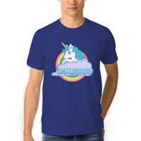 Always Be You T-Shirt Man , Always Be You Unicorn T-Shirt , Unicorn Shirt , Mens Unicorn Shirt