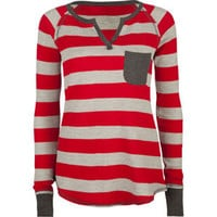 FULL TILT Stripe Pocket Womens Thermal 203957300 | Knit Tops & Tees | Tillys.com