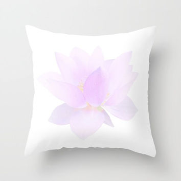 Decorative Throw Pillow - 3 different sizes to Choose From, With or Without Inserts, For Indoors or Outdoors, Floral, Flower, Nature