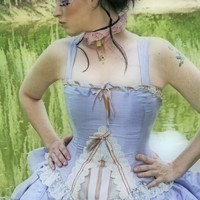 Fantasy Wedding Dress Steampunk Alternative by KMKDesignsllc
