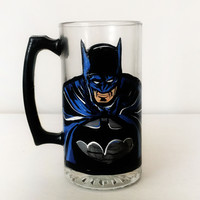 BATMAN Beer Mug - High Quality Very Detailed