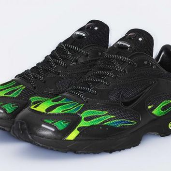 Supreme X Nike Zoom Streak Spectrum Plus Black