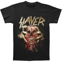 Slayer Men's  Skull Clench T-shirt Black