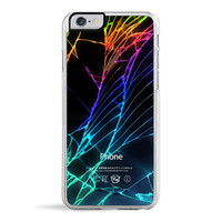 Cracked Out (Black) iPhone 6/6S Case