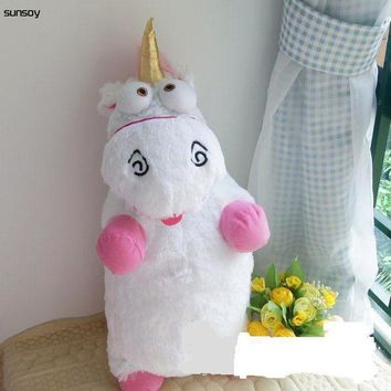 Hot Baby Toys Fluffy Unicorn Plush Doll 22.5Inch/57CM CUTE Good Quality IN STOCK Stuffed Toys Figure Doll For Children Girl Gift