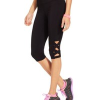Material Girl Juniors' Active Capri Leggings | macys.com
