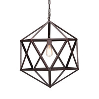 Geometric Ceiling Lamp - Small