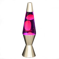 Purple and Red Lava Lamp