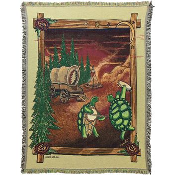Grateful Dead - Covered Wagon Throw Blanket