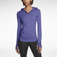 Nike Element Women's Running Hoodie - Purple Haze