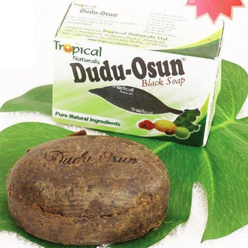 Tropical Brand Dudu-Osun African Natural Black Soap with Natural Ingredient Natural Black Soap