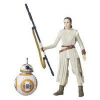 Rey Jakku And BB-8 - Star Wars Black Series 6-Inch Wave 4 (Re-Issue)