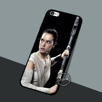 Daisy Ridley Rey Star Wars iPhone X 8+ 7 6s Cases Samsung Galaxy S8 S7 edge NOTE 8 5 4