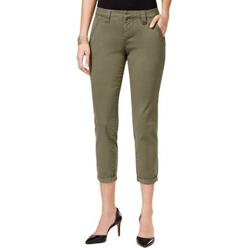 Jag Jeans Womens Dana Twill Chino Ankle Pants