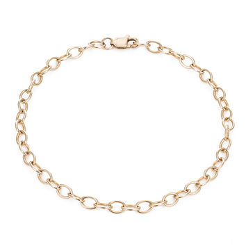 LINK CHAIN BRACELET by MARA CARRIZO SCALISE-gold-mcs-one
