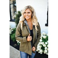 Exciting Adventures Jacket (Olive)
