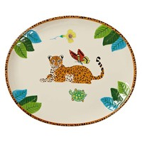 Jungle Jubilee Oval Platter