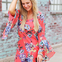 Anything Goes Floral Dress