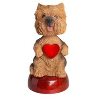 Yorkshire Terrier LED Bobble Head, Yorkshire Terriers by Calendar Club