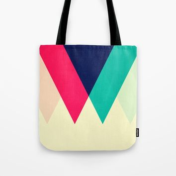 Sawtooth Tote Bag by Trevor May