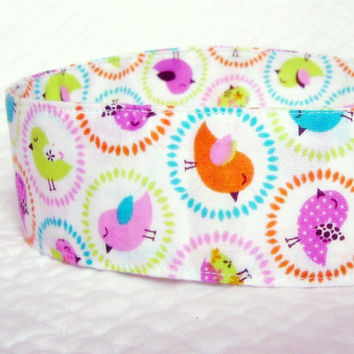 Spring Chick Fabric Headband Spring Colors