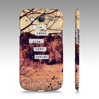 "Samsung Galaxy S3 Covers - iPhone 5,4,4s Case ""Wide Open Spaces"""