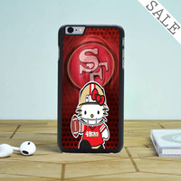 49ers Hello Kitty iPhone 6 Plus iPhone 6 Case